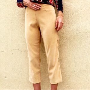 Pants - Vintage High Waisted Tan Trousers ☀️